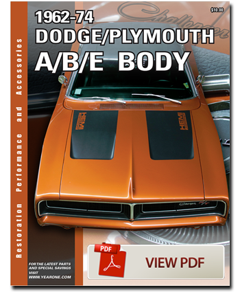 1962-1976 mopar parts dodge plymouth classic restoration parts | yearone  inc