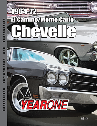 YearOne 1962 to 1974 Chevelle/Monte Carlo/El Camino Print Catalog Online