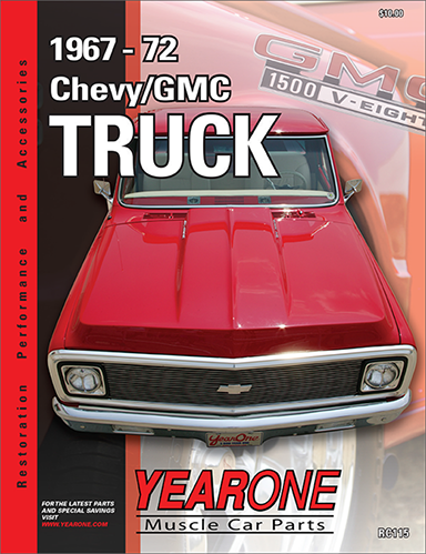 YearOne 1967-1972 Chevy/GMC Truck Print Catalog Online